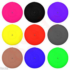 25mm Polypropylene Webbing Strap PP5 Tape ✶ Choice of 13 Colours ✶ High Quality