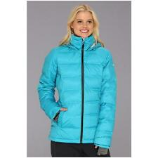 Roxy Powderpuff Down Snowboard Jacket Caribbean Sea NWT Small ARJTJ00007