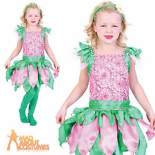Child Forest Fairy Costume Girls Fantasy Book Week Day Fancy Dress Outfit New