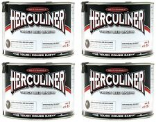 (4) Herculiner HCL1B7 Quart Ready To Use Do It Yourself Roll On Truck Bed Liner