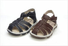 Brand New Infant/Toddler Boys Fisherman Close Toe Sandals Size 2 - 7