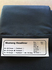 MUSTANG 1969-1970 COUPE HEADLINER NEW IN BOX READY TO INSTALL