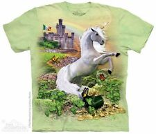 Unicorn In Ireland Mountain T-Shirt - Adult S-5X & Child S-XL