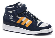Mens Adidas Originals Forum Mid RS Navy Trainers * AUTHENTIC *