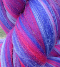 Shep's Wild Berry Merino Wool Top Roving - Spinning, Felting FREE SHIPPING!