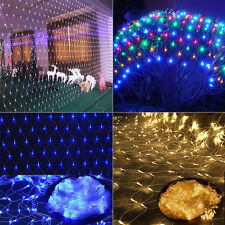 2x3M 4x6M LED Fairy String Net Light Christmas Xmas Tree Garden Party In/Outside