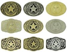 The State Of Texas Texas Seal Logo Western Belt Buckle - Multiple Styles