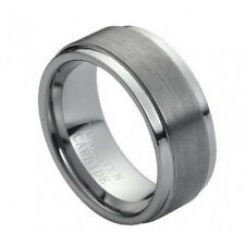 "Tungsten wedding band "" FREE ENGRAVING "", MMTR005 8mm tungsten men's ring"