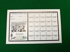 Fundraising Football Charity Event Scratch Cards 30 Team