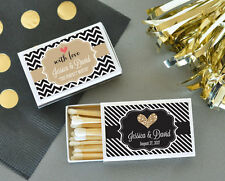 Personalized Themed Match Boxes Anniversary Party Wedding Bridal Shower Favor