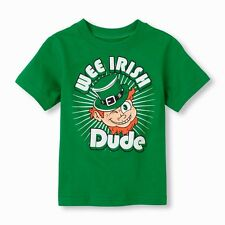 TCP ST PATRICK'S DAY WEE IRISH DUDE LEPRECHAUN BABY BOY T SHIRT TEE 6-24M 2T-4T
