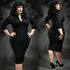 Womens Sexy Bodycon Plus Size V Neck Party Evening Cocktail Formal Dress OO55