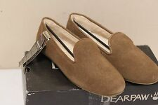 Bearpaw Octavia Womens Hickory Suede Flats Slipper Shoes
