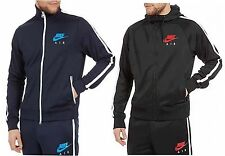 Nike Man's Air Limitless Full Tracksuit Hooded Jogging Bottoms Navy Black S-XL