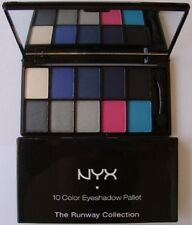 NYX 10 Color Eyeshadow Palette The Runway Collection [Various Combo Palettes]