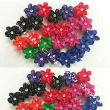 48pcs Hair Snap Clamp Clip Claw Flower Pin Updo Ties Scallop Wholesale Lots 1.5""