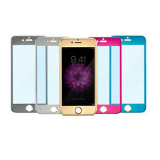 Metal Full-Cover Tempered Glass Screen Protector Film for iPhone 6/6s Plus
