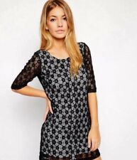 Traffic People Black Daisy Lace Dress~ With Tags Boutique Outlet now £15