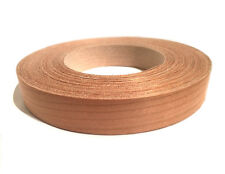 "Cherry wood veneer edge banding pre glued ( 3/4"", 13/16"", 7/8"" ) x 50'"