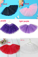 Girls Ballet Tutu Princess Dress Up Dance Wear Costume Party Endearing Skirt