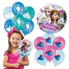 Disney Frozen Collection Balloons Foil Latex Birthday Party Favour Decorations