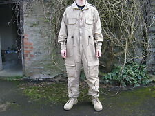 British Army Desert Coveralls Fighting Vehicle Zip Flame Fire Resistant Overalls