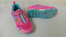 New! Skechers Girls Skech-Air Bounce Ups Training Shoes-Style 80230L (126W) kl