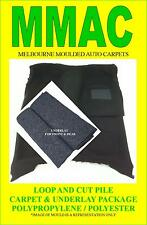 MOULDED CAR CARPETS (G24) HOLDEN HD HR FRONT & REAR & U/LAY 65-67