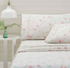 Bettina Pink Flannelette Sheet Set |100% Cotton | Cuffed & Piped | Queen | King