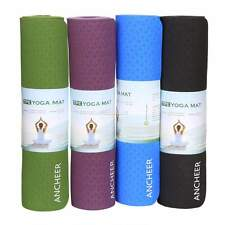 Professional 8mm TPE Yoga Mat Pad Non-Slip Exercise Fitness Professional