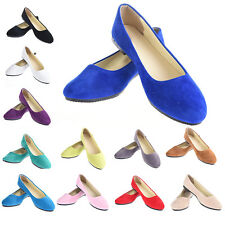 Fashion Women's Boat Shoes Casual Flat Ballet Slip On Flats Loafers Single Shoes