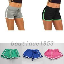 Exercise Athletic Womens Workouts Hot Pants Training Yoga Striped Running Shorts