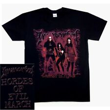 Immortal Damned In Black Shirt S M L XL Official T-Shirt Black Metal Tshirt New