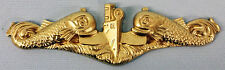 USN US NAVY SUBMARINE WARFARE INSIGNIA SUBBY GOLD SILVER DOLPHINS RETIRED