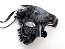 Steampunk Military Masquerade Ball Party Mask Burning Man Festival Costume Party
