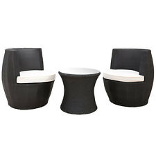 Milan Direct Outdoor Sofas & Seating Sets NEW Tower 3 Piece Outdoor Stacking Set