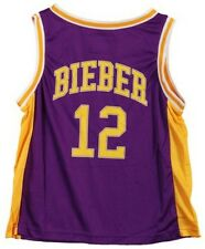 Justin Bieber Jersey double sided Junior Concert official Licensed  Youth shirt