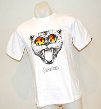Quiksilver Boys  T Shirt- WHITE -SIZE - 8,10,14 & 16 Years- NEW