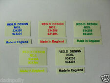 RALEIGH CHOPPER MK 1 DECAL - REG.D DESIGN - MADE IN ENGLAND - VARIOUS COLOURS