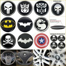 20pcs Alloy Emblem Badge Auto Steering Tyre Wheel Rim Center Hub Cap Decal Cover