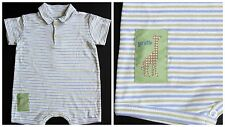 Baby Boy Romper 12M Boutique Peppertoes Baby Lulu New