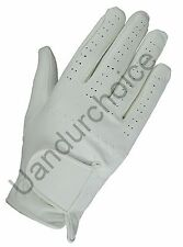 Equestrian Horse Riding Synthetic Leather Glove Brand New 5009 USA Free Shipping