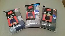 new mens hanes 4 boxer briefs.  3 styles to choose.