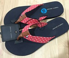 NWT Womens Tommy Hilfiger Thongs Sandals Flip Flops Size 7 or 10