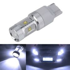 7443 7440 High Power 30W White Reverse Brake Tail Turn Signal LED Light Bulb QT