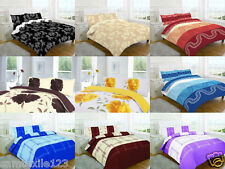 Duvet Cover Set with Pillow Case Quilt Cover  Bedding Set All uk Size