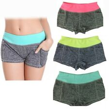 Fashion Women Girls Summer Pants Gym Workout Sports Shorts Gym Yoga Shorts