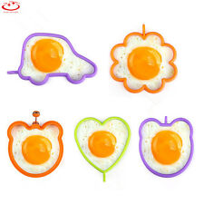 Silicone Flower Owl Egg Mold Shaped Fried Breakfast Funny Cooking Tool kitchen