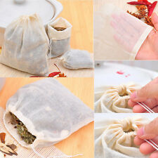 10 ,50 ,100 ,Pack Cotton Muslin Drawstring Reusable Bags Bath Soap Herbs Tea