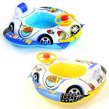 Baby Kids Toddler Swimming Swim Seat Infant Inflatable Float Ring Boat 2 Colors